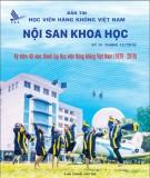 Bản tin Học viện Hàng không Việt Nam -  Nội san khoa học: Kỳ 1 tháng 12/2018