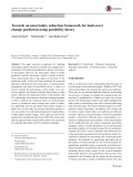 Towards an uncertainty reduction framework for land-cover change prediction using possibility theory