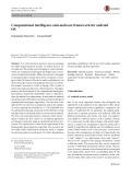 Computational intelligence anti-malware framework for android OS