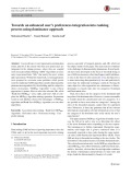 Towards an enhanced user's preferences integration into ranking process using dominance approach