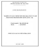 Tóm tắt luận án Tiến sĩ Địa chất: Nghiên cứu quá trình tiến hoá địa chất của bể trầm tích Mezozoi Phú Quốc (Lô 41 - 45)