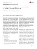 Making kernel-based vector quantization robust and effective for incomplete educational data clustering
