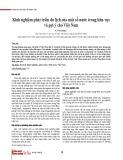 Kinh nghiệm phát triển du lịch của một số nước trong khu vực và gợi ý cho Việt Nam