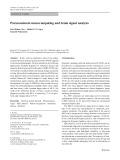 Paraconsistent neurocomputing and brain signal analysis