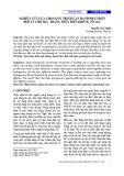 Nghiên cứu lựa chọn quy trình vận hành phát điện hợp lý cho bậc thang thủy điện Krông Nô 2&3