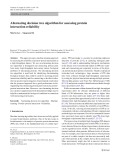 Alternating decision tree algorithm for assessing protein interaction reliability