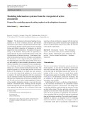 Modeling information systems from the viewpoint of active documents