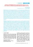 Đánh giá tính hiệu quả của Rhizophora apiculata và Nypa fruticans trong giảm sóng do tàu thuyền gây ra