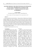 Factors defining the effectiveness of integrated accounting information system in ERP environment - evidence from Vietnam's enterprises