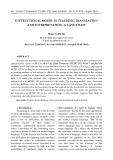 Instructional model in teaching translation and interpretation: A case study