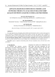 Applying resource dependence theory and network theory to analysis of relationship quality between logistics users and providers