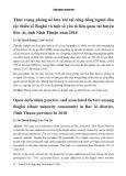 Thực trạng phóng uế bừa bãi tại cộng đồng người dân tộc thiểu số Raglai và một số yếu tố liên quan tại huyện Bác Ái, tỉnh Ninh Thuận năm 2018