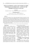 Effects of working capital management on firm performance and firm value – a study of the fisheries industry in Vietnam