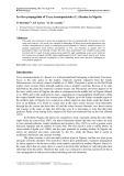 In vitro propagation of Tacca Leontopetaloides (L.) Kuntze in Nigeria