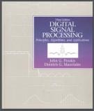 Algorithms and applications - Digital signal processing principles