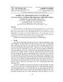 Nghiên cứu thành phần loài và sự phân bố của các loài cá ở sông Tiền, đoạn qua tỉnh Tiền Giang