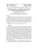 Nguồn vốn vật chất và xã hội của các hộ gia đình ở xã Thới Bình (huyện Thới Bình, tỉnh Cà Mau)