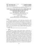 Nghiên cứu và phân tích nguồn gốc ô nhiễm không khí ở thành phố Huế thông qua rêu Barbular bằng phần mềm Statistica 8.0