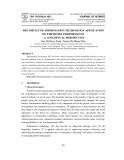 The impact of information technology application on the hotel performance – a conceptual perspective
