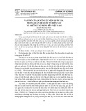 Vai trò của quyền lực mềm quốc gia trong quan hệ quốc tế hiện nay và những tác động đến Việt Nam