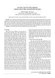Vai trò của tri thức bản địa trong thích ứng với biến đổi khí hậu