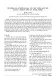 Tác động của biến đổi khí hậu đến chất lượng nước hồ: Nghiên cứu điển hình cho hồ Tây, Hà Nội