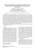 Đánh giá tính bền vững của mô hình cộng đồng quản lý tài nguyên nước trong lĩnh vực cấp nước sinh hoạt tỉnh Cà Mau