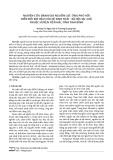 Nghiên cứu đánh giá nguồn lực ứng phó với biến đổi khí hậu của hệ sinh thái - xã hội tại 3 xã thuộc huyện Tiền Hải, tỉnh Thái Bình