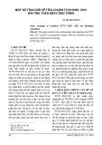 Một số trao đổi về tiêu chuẩn TCVN 9362-2012 khi tính toán nền công trình