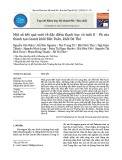 Một số kết quả mới về đặc điểm thạch học và tuổi U - Pb của thành tạo Granit khối Bến Tuần, khối Đá Thẻ