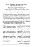 Rà soát, đề xuất hoàn thiện mạng lưới giám sát lắng đọng a xít tại Việt Nam