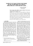 Nghiên cứu áp dụng phương pháp Priebe để tính lún nền móng cọc loess-xi măng đầm chặt, trong nền đất loess