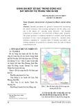 Đánh giá một số đặc trưng động học đất nền đô thị trung tâm Hà Nội