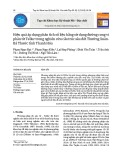 Hiệu quả áp dụng phân tích số liệu bằng sử dụng đường cong vi phân từ Tellur trong nghiên cứu cấu trúc sâu đới Thường Xuân - Bá Thước tỉnh Thanh Hóa