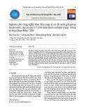 Nghiên cứu công nghệ khai thác hợp lý và đề xuất giải pháp thoát nước cho Lò chợ I-7-22A nằm dưới suối gốc Vạng - Công ty than Nam Mẫu - TKV