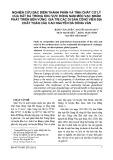 Nghiên cứu đặc điểm thành phần và tính chất cơ lý của đất đá trong khu vực Đông Nam Mèo Vạc nhằm phát triển bền vững giá trị các di sản công viên địa chất toàn cầu cao nguyên đá Đồng Văn