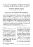 Nghiên cứu đánh giá tiềm năng giảm phát thải khí nhà kính và chi phí - lợi ích của giải pháp thu hồi khí bãi rác cho phát điện: Nghiên cứu điển hình cho bãi chôn lấp Nam Sơn, Hà Nội