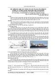 Đặc điểm xác định các thông số chủ yếu của tàu đệm khí lưỡng cư cỡ nhỏ trong giai đoạn thiết kế ban đầu