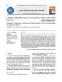 Công tác pháp chế trong các cơ sở giáo dục đại học ở Việt Nam hiện nay