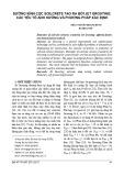 Đường kính cọc soilcrete tạo ra bởi Jet Grouting: Các yếu tố ảnh hưởng và phương pháp xác định
