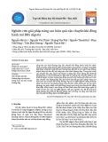 Nghiên cứu giải pháp nâng cao hiệu quả vận chuyển khí đồng hành mỏ BRS Algeria