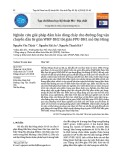 Nghiên cứu giải pháp đảm bảo dòng chảy cho đường ống vận chuyển dầu từ giàn WHP-DH2 tới giàn FPU-DH1 mỏ Đại Hùng