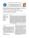 Đặc điểm địa hóa đá mẹ tập trầm tích Oligocen trên khu vực Tây Nam lô 09-3/12, Bể Cửu Long, Việt Nam