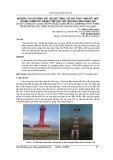 Nghiên cứu sử dụng vật liệu bê tông cốt sợi thủy tinh kết hợp thanh composit trong thiết kế trụ tiêu báo hiệu hàng hải