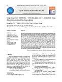 Ứng dụng card NI-Myrio - 1900 để giám sát và phân tích rung động cho các thiết bị công nghiệp