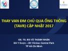 Bài giảng Thay van động mạch chủ qua ống thông (TAVR) cập nhật 2017 – GS.TS Võ Thành Nhân