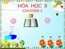 Bài giảng Hóa học 8 - Chương II: Phản ứng hóa học (Bài 17: Sự biến đổi chất)