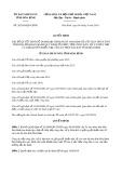 Quyết định 26/2019/QĐ-UBND tỉnh Hòa Bình