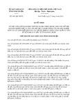 Quyết định số 1041/QĐ-UBND tỉnh NinhThuận