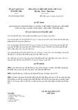 Quyết định 09/2019/QĐ-UBND tỉnh Bắc Kạn